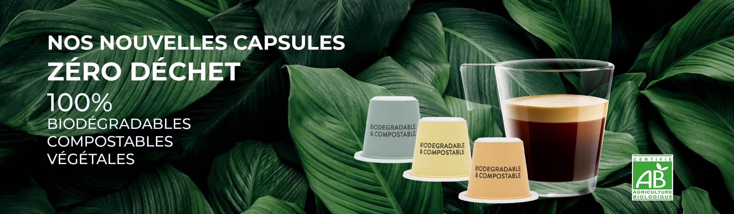 Café BIO en Capsules Biodégradables