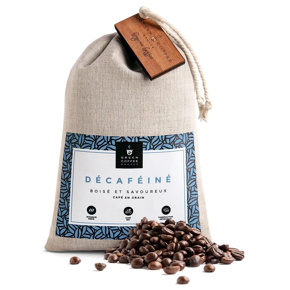 Café grain Decafeiné